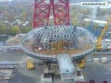 Строительство вантового моста г.Москва Серебрянный бор
