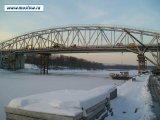 Демонтаж моста через канал им. Москвы на 66 км автодороги Москва-Дмитров-Дубна